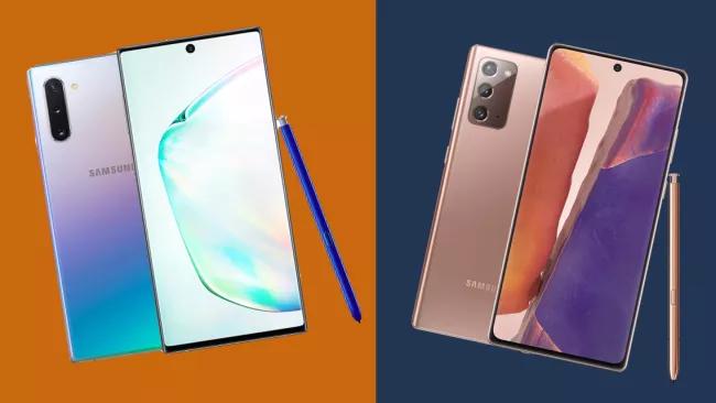 Samsung Galaxy Note 10 (T) and Note 20 (P) (Hình ảnh: Samsung)