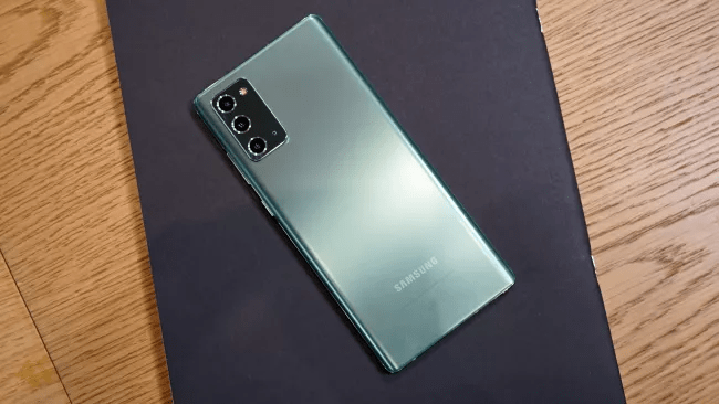 Thiết kế Galaxy Note 20