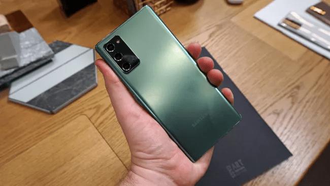 Trên tay chiếc Samsung Galaxy Note 20