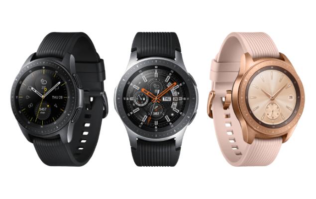 Samsung Galaxy Watch với thiết kế mạnh mẽ, ấn tượng.