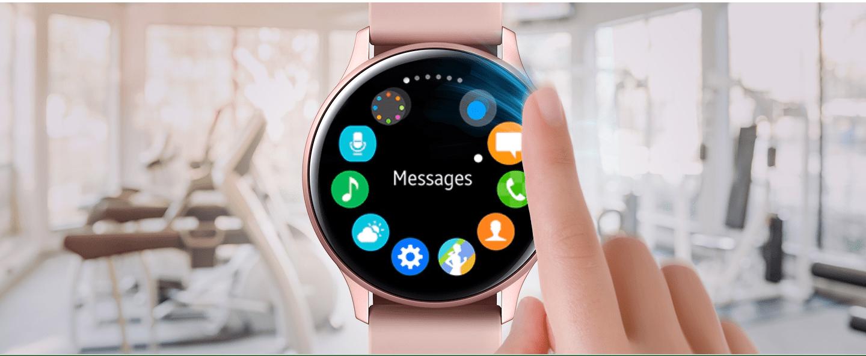 Khung bezel cảm ứng của Galaxy Watch Active 2