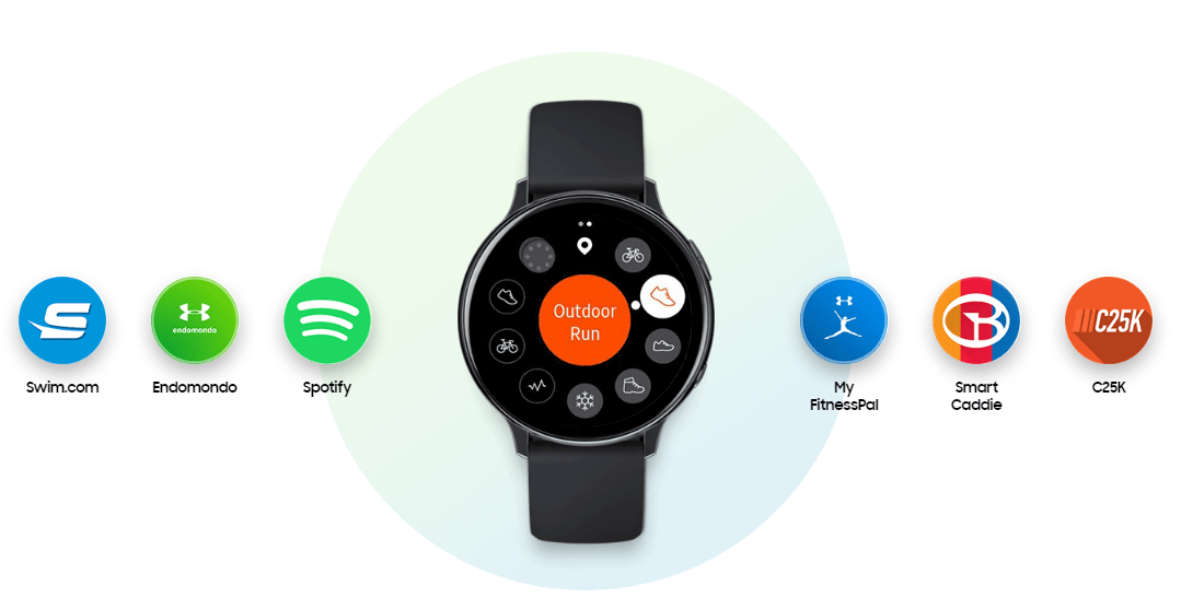 Samsung ra mắt Galaxy Watch Active 2: bổ sung LTE, hỗ trợ ECG 3