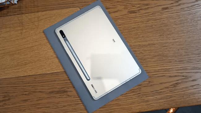 Mặt sau của Samsung Galaxy Tab S7. (Hình ảnh: TechRadar)