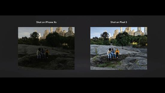"""Night Sight: Một trong những tính năng mới của camera mà Google tự hào giới thiệu trên trên Pixel 3 chính là chế độ Night Sight. Theo Google, nó hoạt động trong điều kiện thiếu sáng tốt đến nỗi """"bạn sẽ không bao giờ phải dùng tới đèn flash nữa""""."""