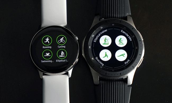 Active 2 có nhiều chế độ luyện tập hơn so với Galaxy Watch