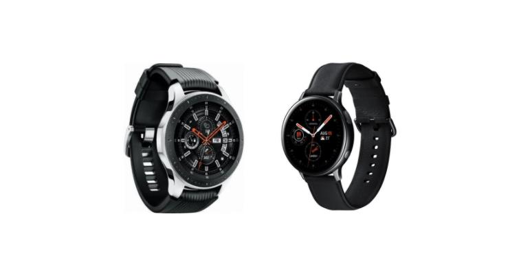 Một chiếc Active 2 nhẹ hơn nhiều so với một chiếc Galaxy Watch.