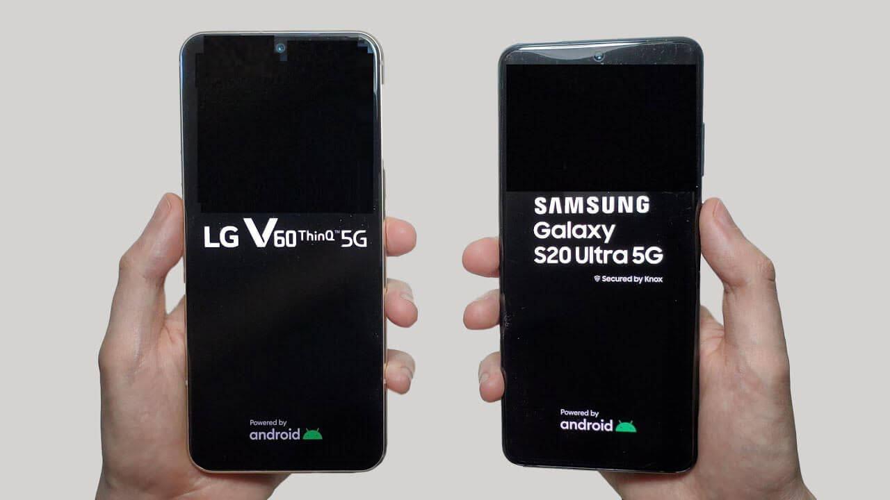 So sánh và đánh giá LG V60 ThinQ và Samsung Galaxy S20 Ultra 3