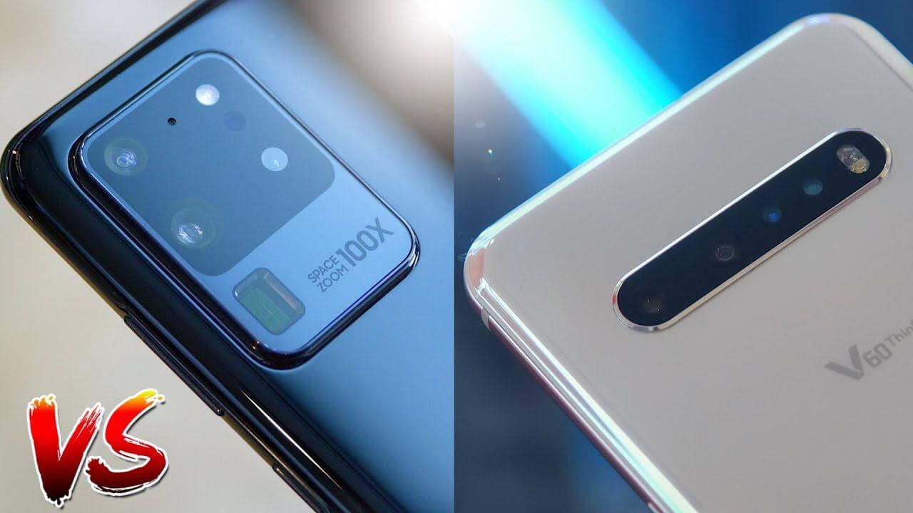 So sánh và đánh giá LG V60 ThinQ và Samsung Galaxy S20 Ultra 1
