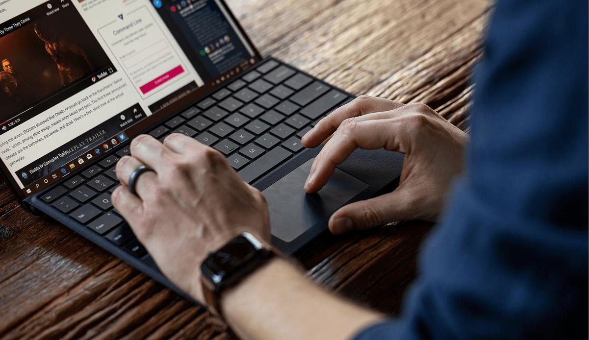 Đánh giá Surface Pro X - thiết kế, màn hình,cổng kết nối 9