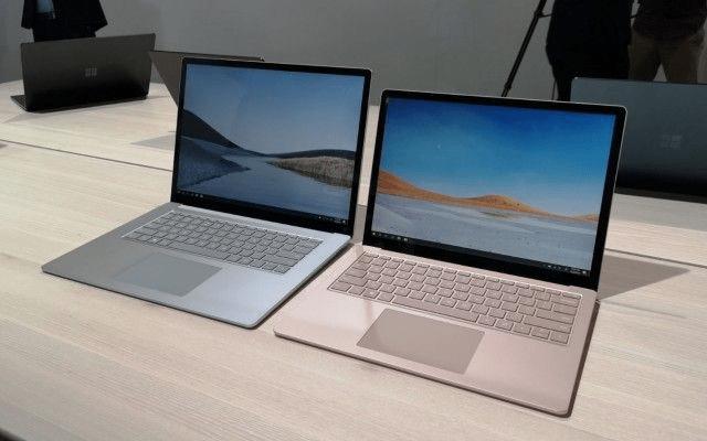 Các dòng Surface 2020: Laptop Surface Laptop 3 13,5 inch và 15 inch