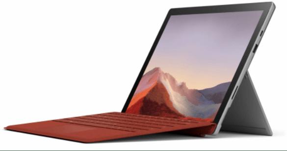 Surface Pro 7 với bộ xử lý Intel @Microsoft