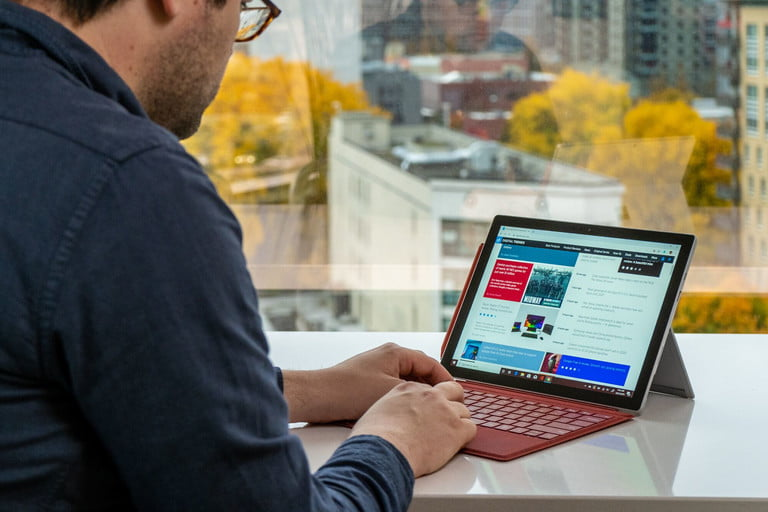 Tính linh hoạt vượt trội của Surface Pro 7