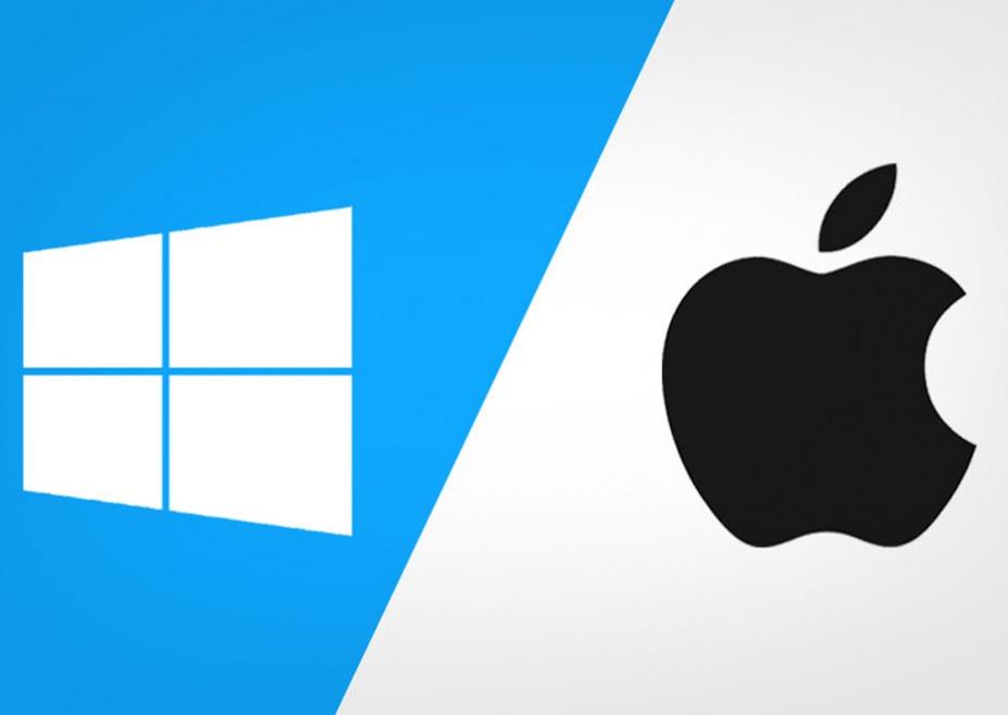 Hệ điều hành của Surface laptop 3 và Macbook Air 2020