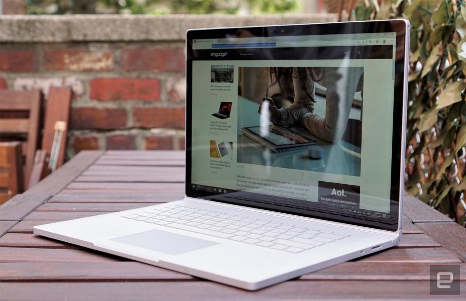 Surface Book 3 (Hình ảnh: Devindra Hardawar/Engadget)