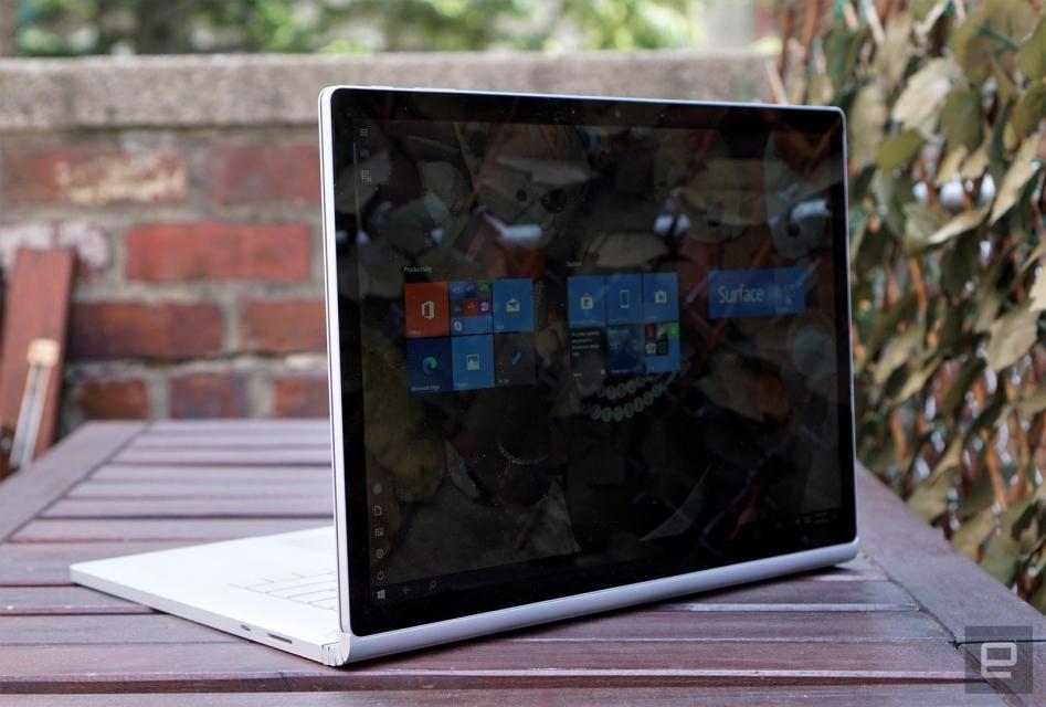 Màn hình của Surface Book 3 (Hình ảnh: Devindra Hardawar/Engadget)