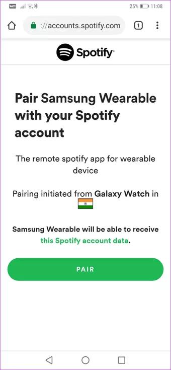 Spotify và cách sử dụng spotify trên Samsung Galaxy Watch 2