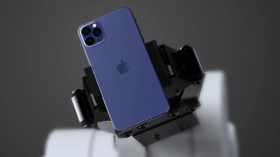 Iphone 12 với màu lam lạ mắt