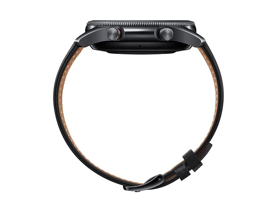 Samsung Galaxy Watch 3 mỏng hơn 14% và nhẹ hơn 15% so với thế hệ tiền nhiệm Galaxy Watch. @samsung.com