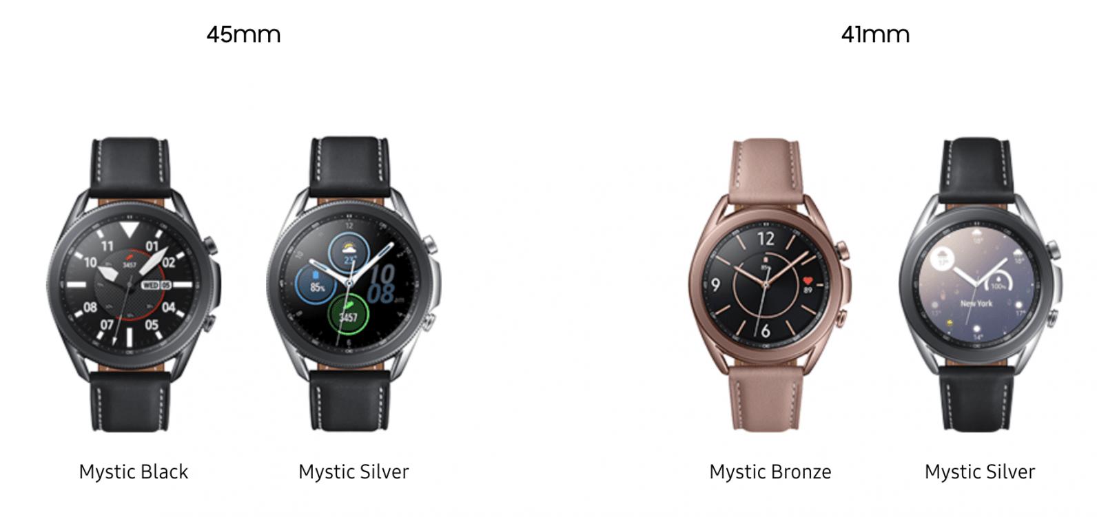 Galaxy Watch 3 có các phiên bản đa dạng cho bạn lựa chọn @thenextweb.com