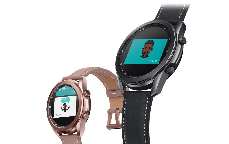 Tạo Emoji cá nhân trên Galaxy Watch 3.