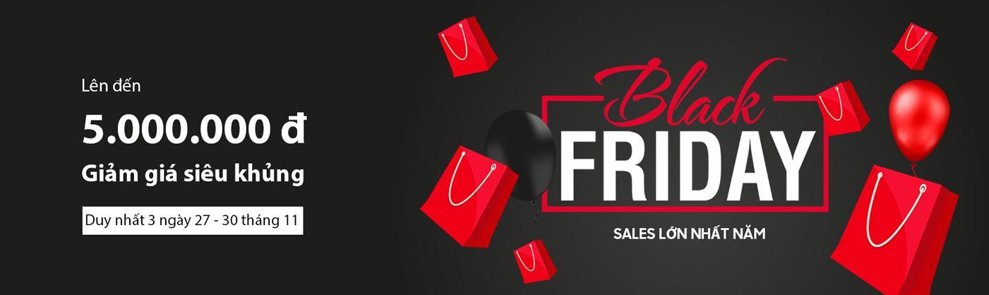 giảm giá Black Friday duy nhất 3 ngày