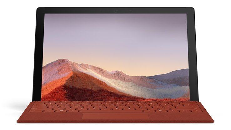 Microsoft Surface Pro 7 @CNET