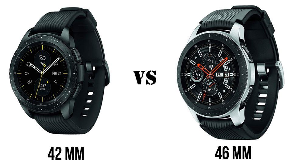 Đồng hồ đeo tay galaxy watch 42mm vs 46mm: Sự lựa chọn nào dành cho bạn? 1
