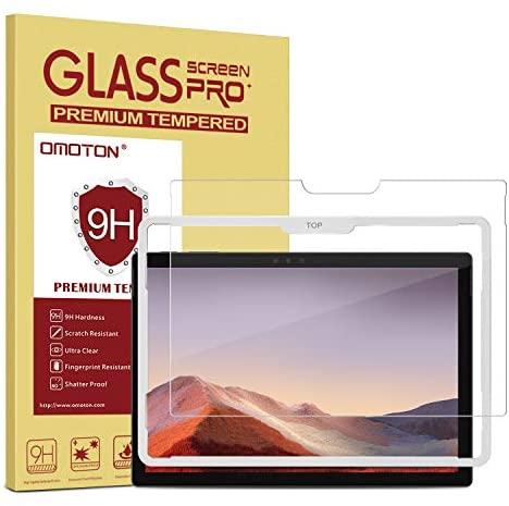 Kính cường lực Omoton mang lại sự bảo vệ tuyệt đối cho Surface Pro