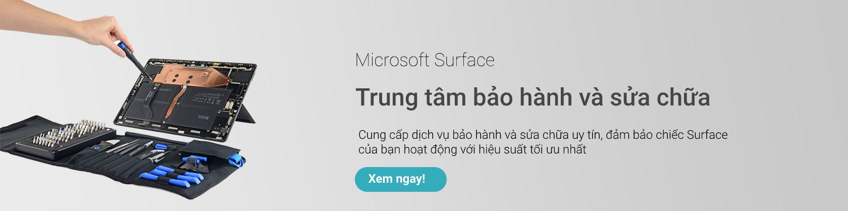 Trung tâm bảo hành và sửa chữa Microsoft Surface