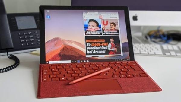 Sửa lỗi màn hình vì quá nóng trên Surface Pro 7 3