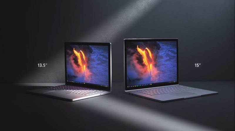 Surface Book 3 13.5 inch và 15 inch