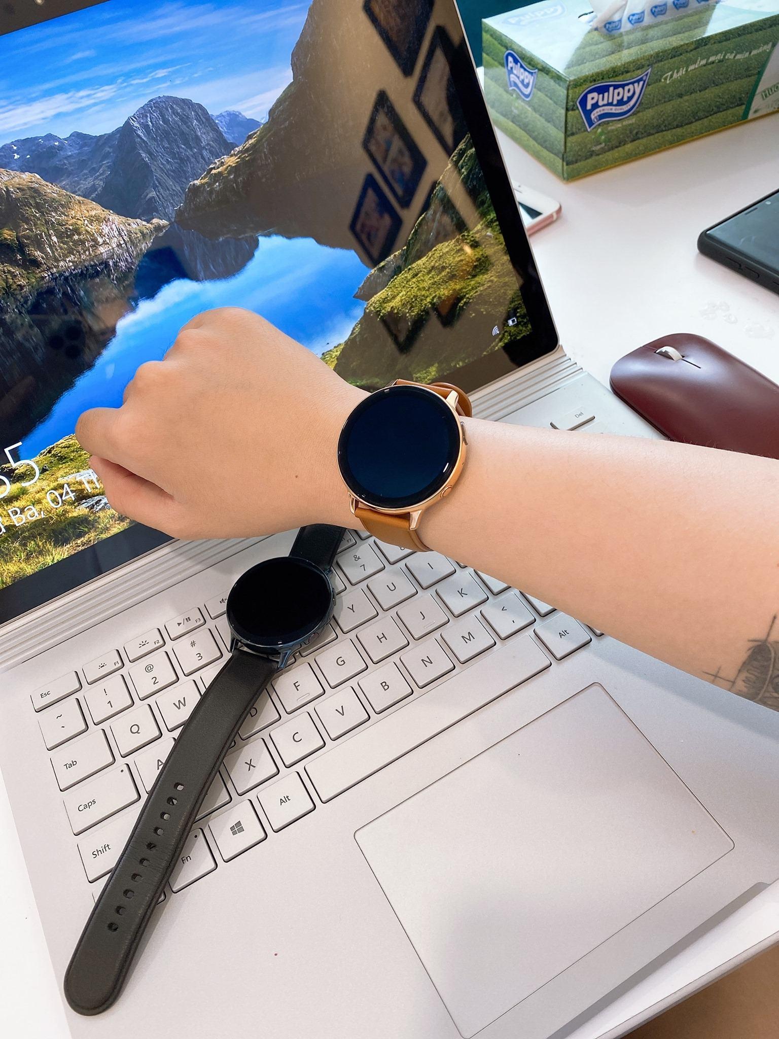 Samsung Galaxy Watch Active 2 Aluminum - Chính Hãng SSVN 70
