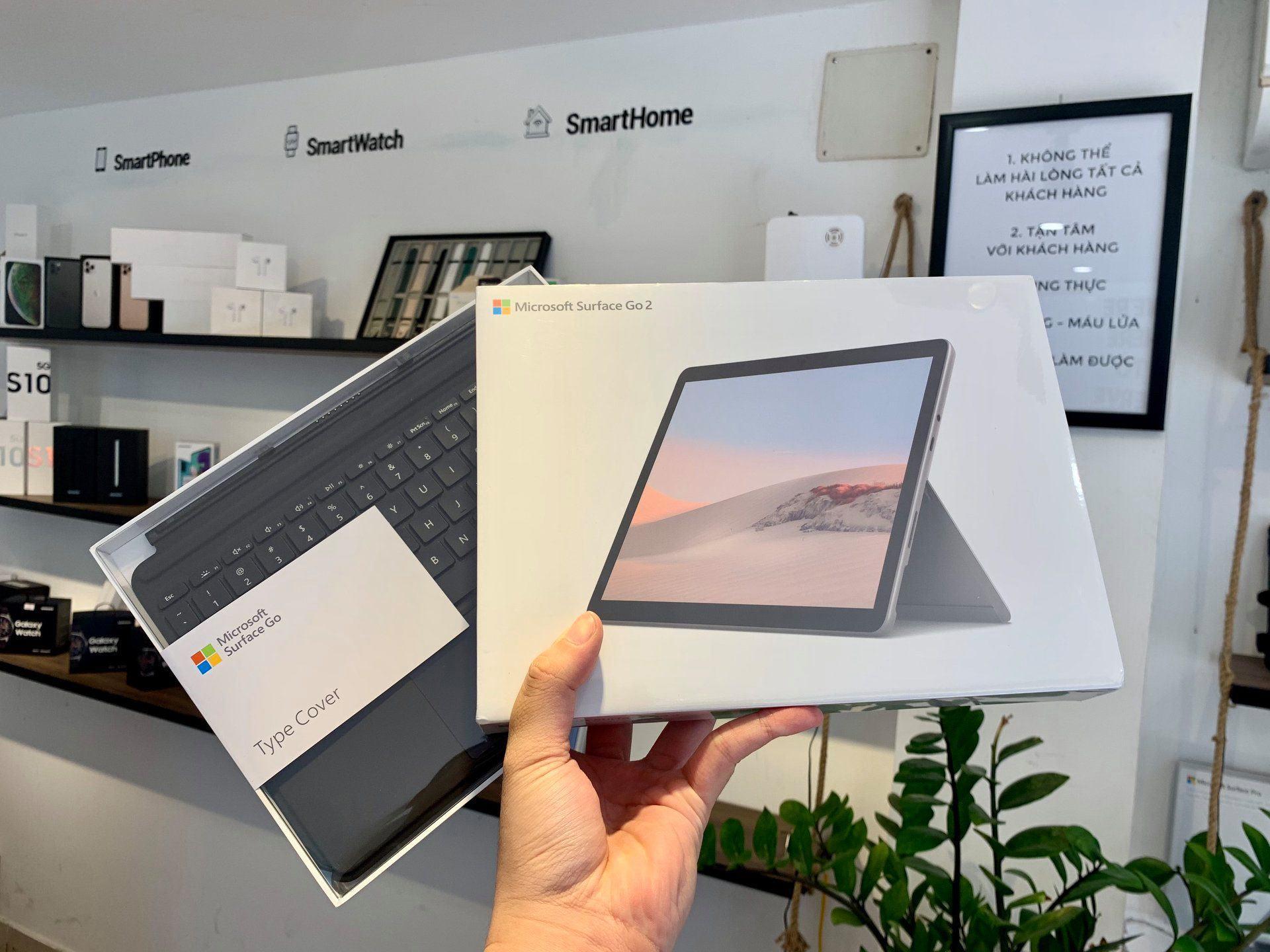 Microsoft Surface GO 2 M3 8GB 128GB LTE Chính Hãng 16