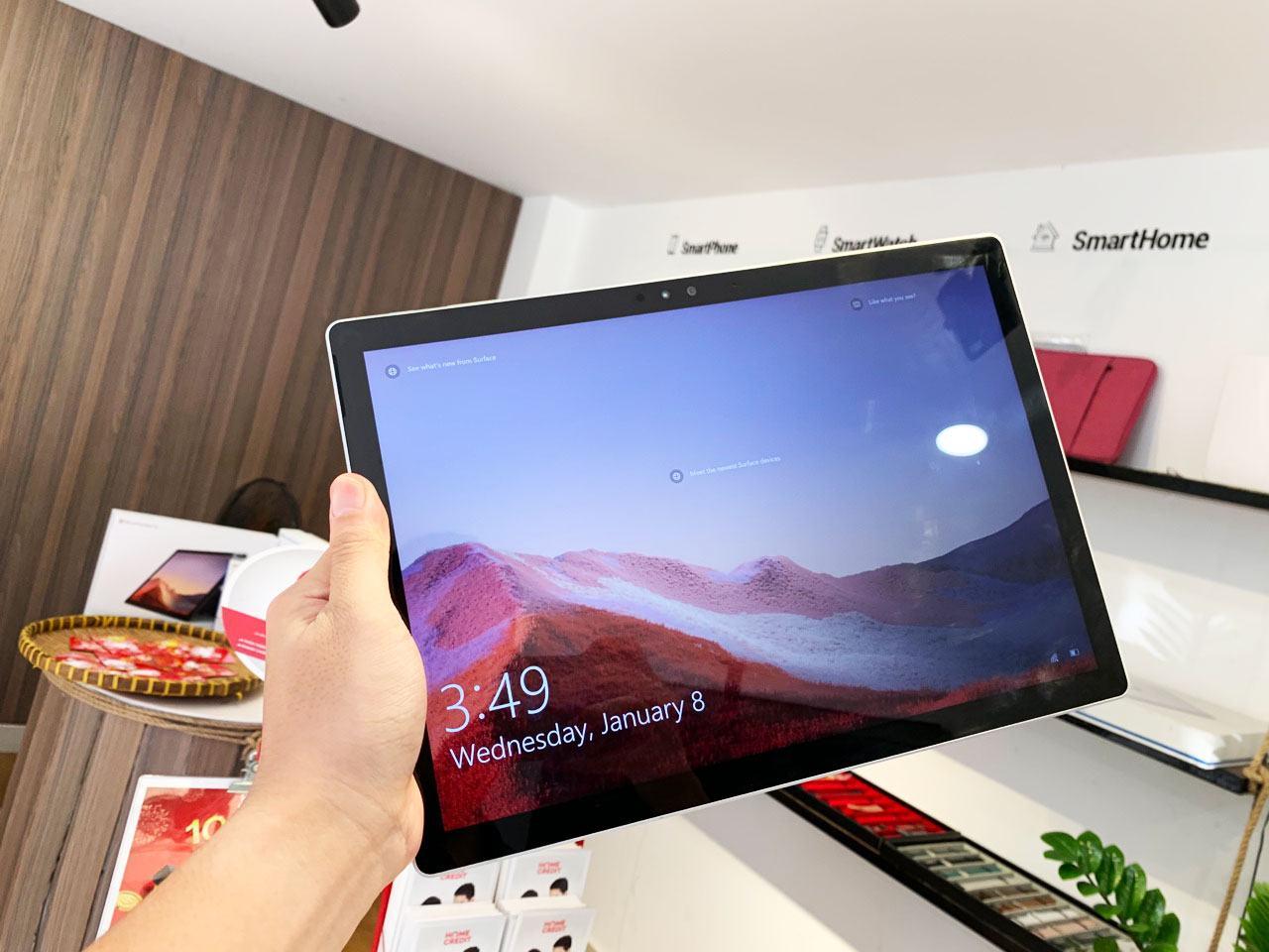 Surface Pro 7 I5 16GB 256GB Chính Hãng 19