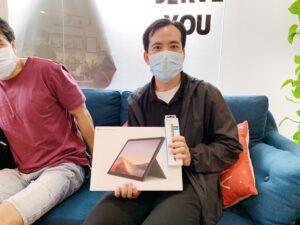 Surface Laptop 3 I5 8GB 256GB 13.5inch Chính Hãng 31