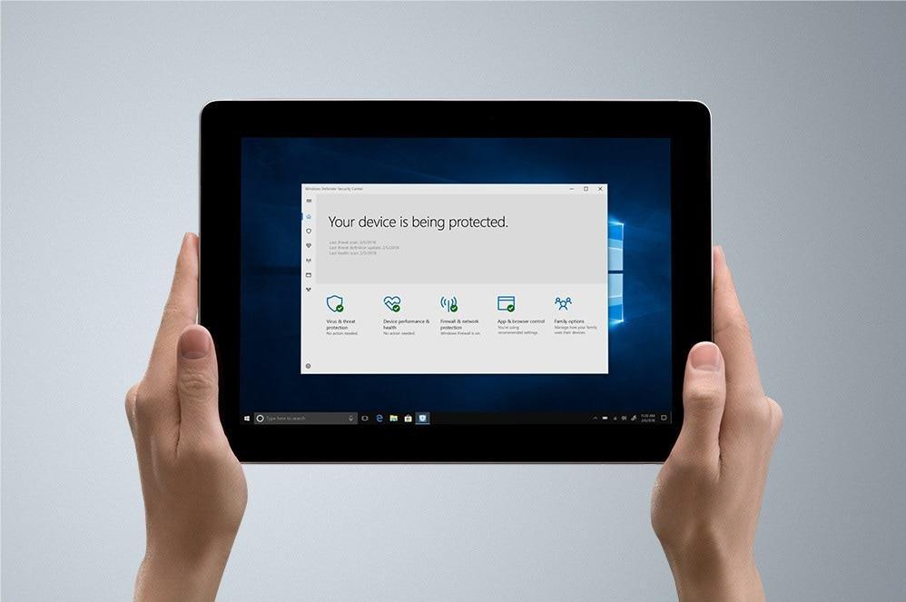Surface Go đảm bảo cung cấp đầy đủ tính năng của một máy tính bảng cho đến một máy tính xách tay