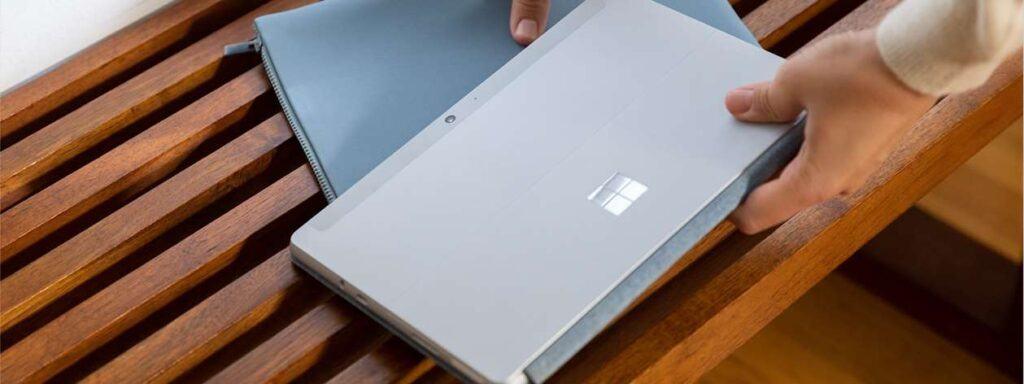 Surface Go 2 cho thời gian sử dụng 8 tiếng sau 1 lần sạc đầy