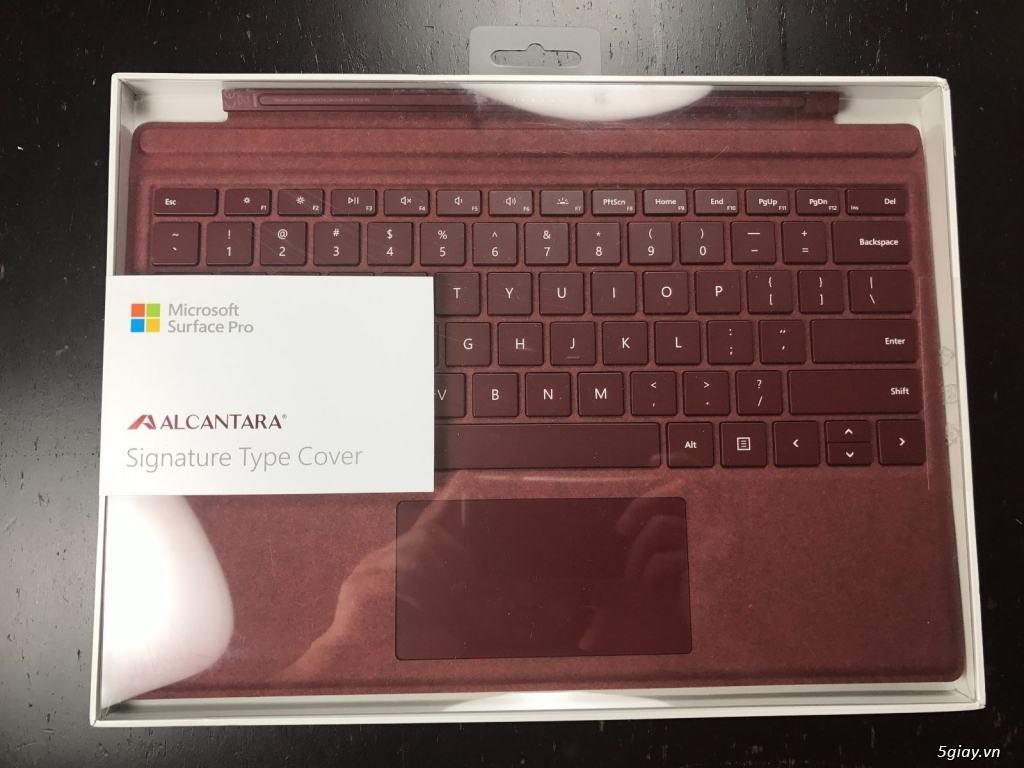 Bàn phím Signature Alcantara Type Cover Surface Pro Chính Hãng 15