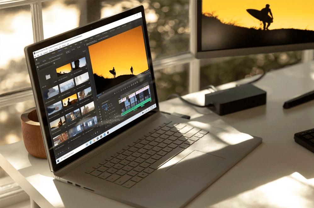 Surface Book 3 13.5 inch thừa hưởng tinh hoa về thiết kế và trang bị thêm hiệu năng mới