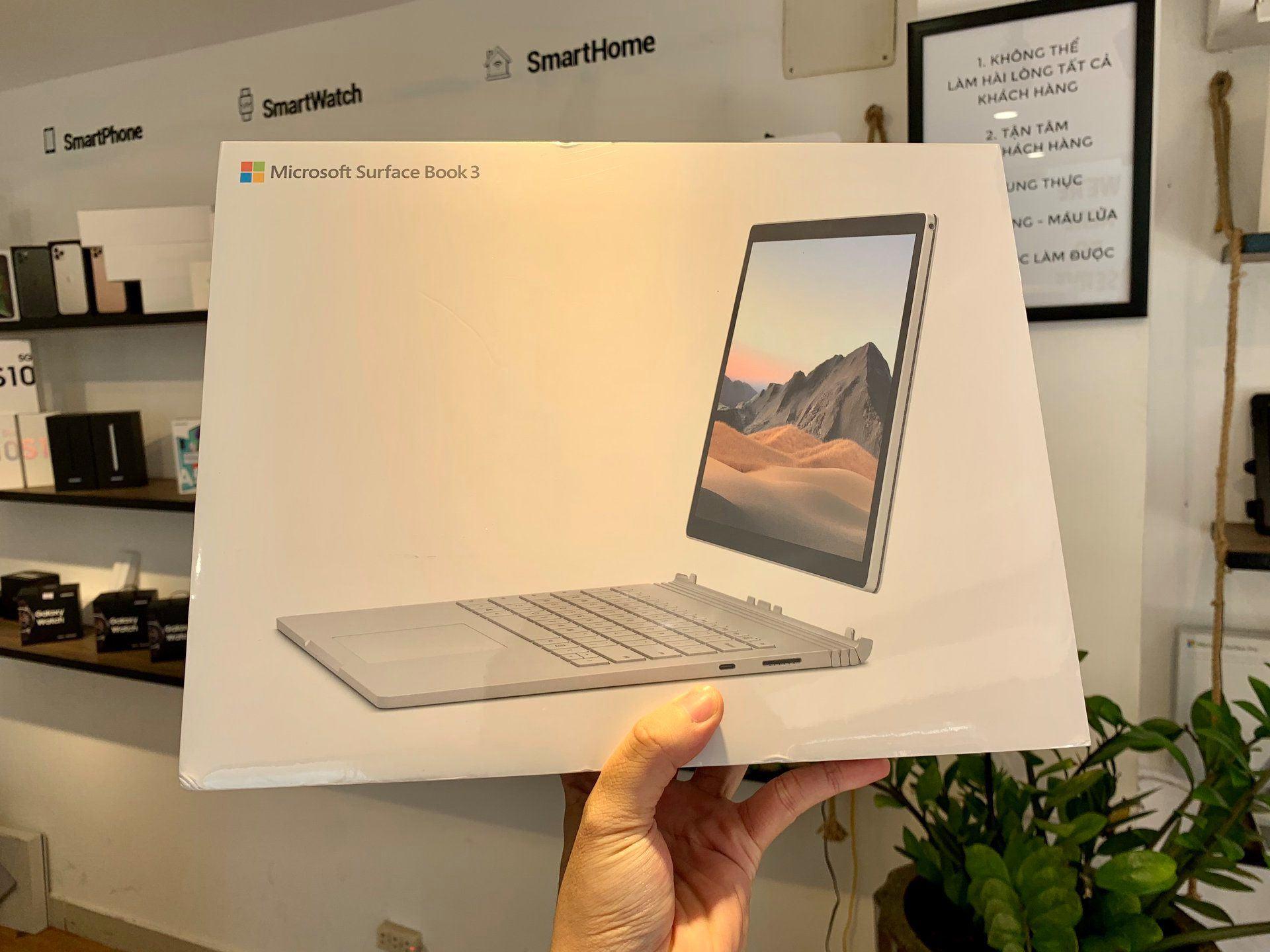 Surface Book 3 I7 16GB 256GB 15 Inch Chính Hãng 49