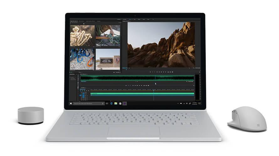 Cấu hình hình Surface Book 2 I5/8GB/128GB đảm bảo được chất lượng đi đôi với số tiền phải bỏ ra