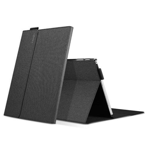 Ốp lưng Spigen Surface Pro Stand Folio - Hàng chính hãng 2