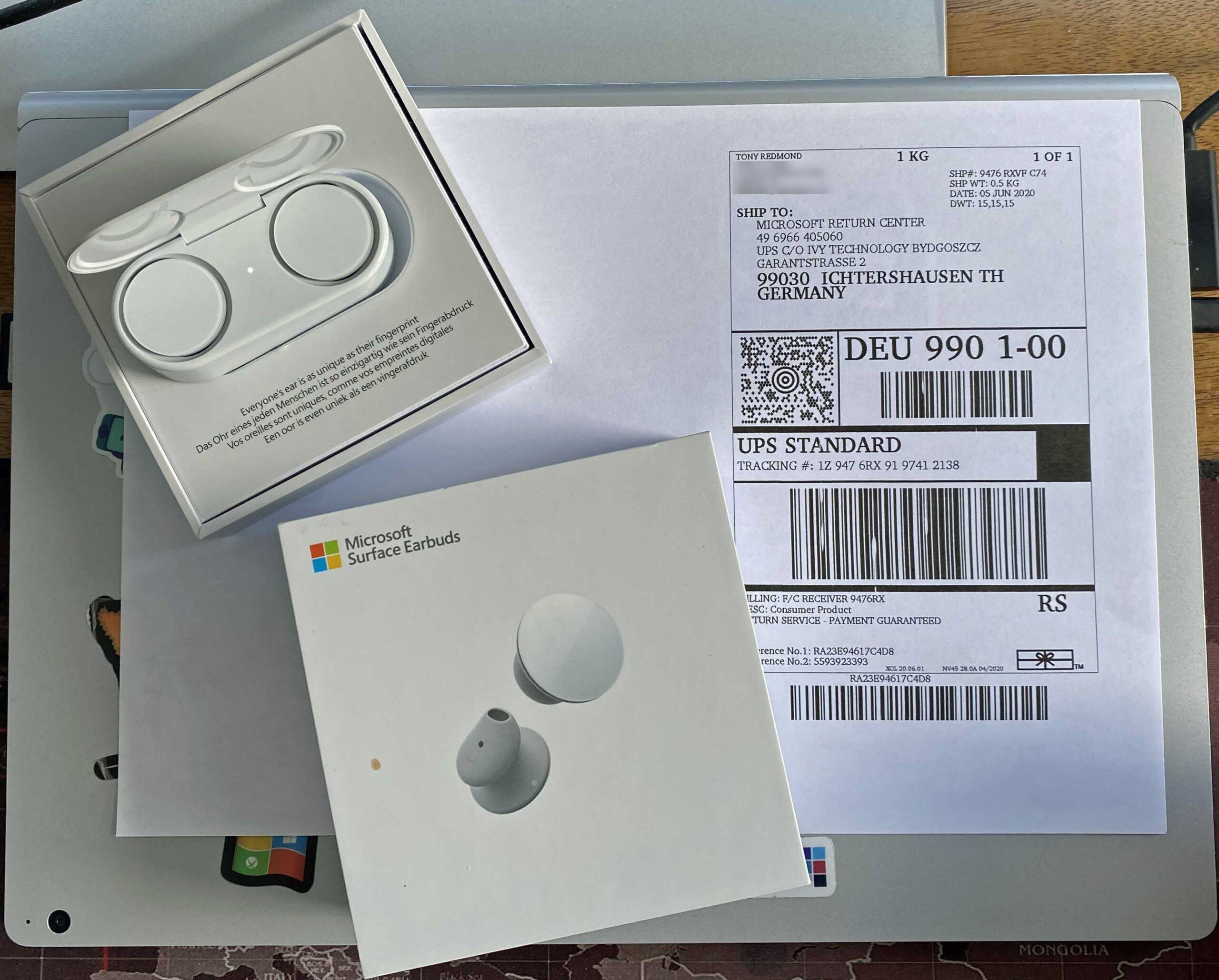 Tai nghe Microsoft Surface Earbuds kết nối không dây 32