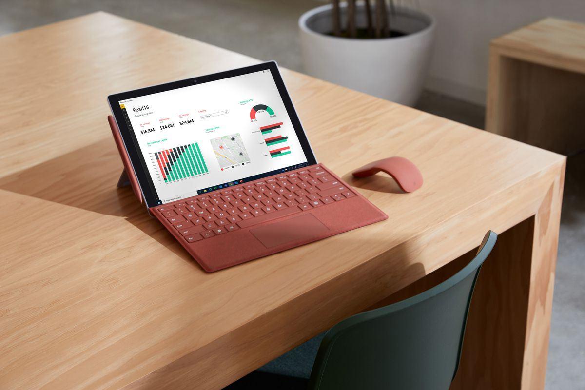 Surface Pro 7 Plus với chip intel thế hệ thứ 11