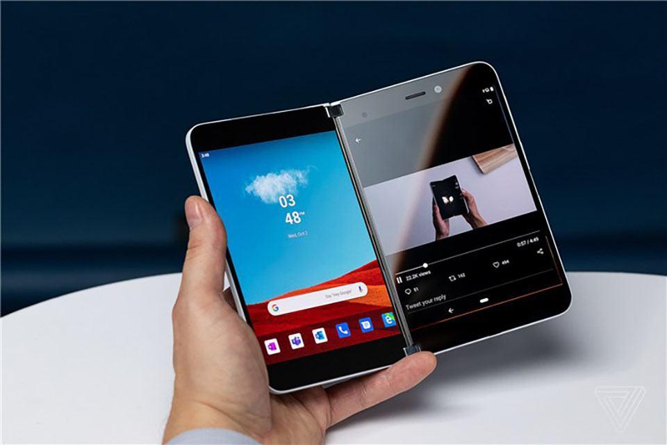 Surface Duo bộ nhớ 128GB 29