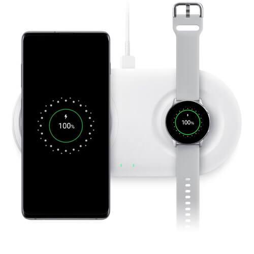 Đế sạc đôi Samsung wireless Charger Duo Pad (2019)-Hàng Chính Hãng 1