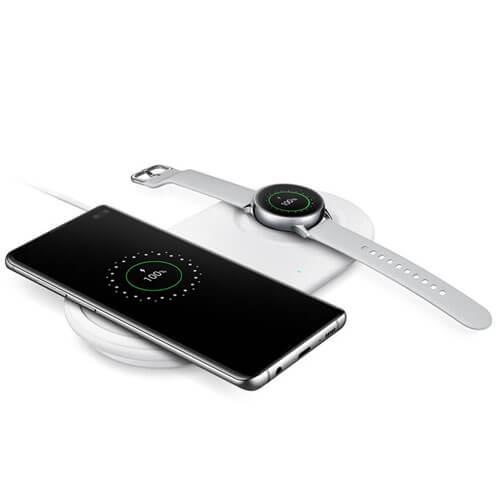 Đế sạc đôi Samsung wireless Charger Duo Pad (2019)-Hàng Chính Hãng 4