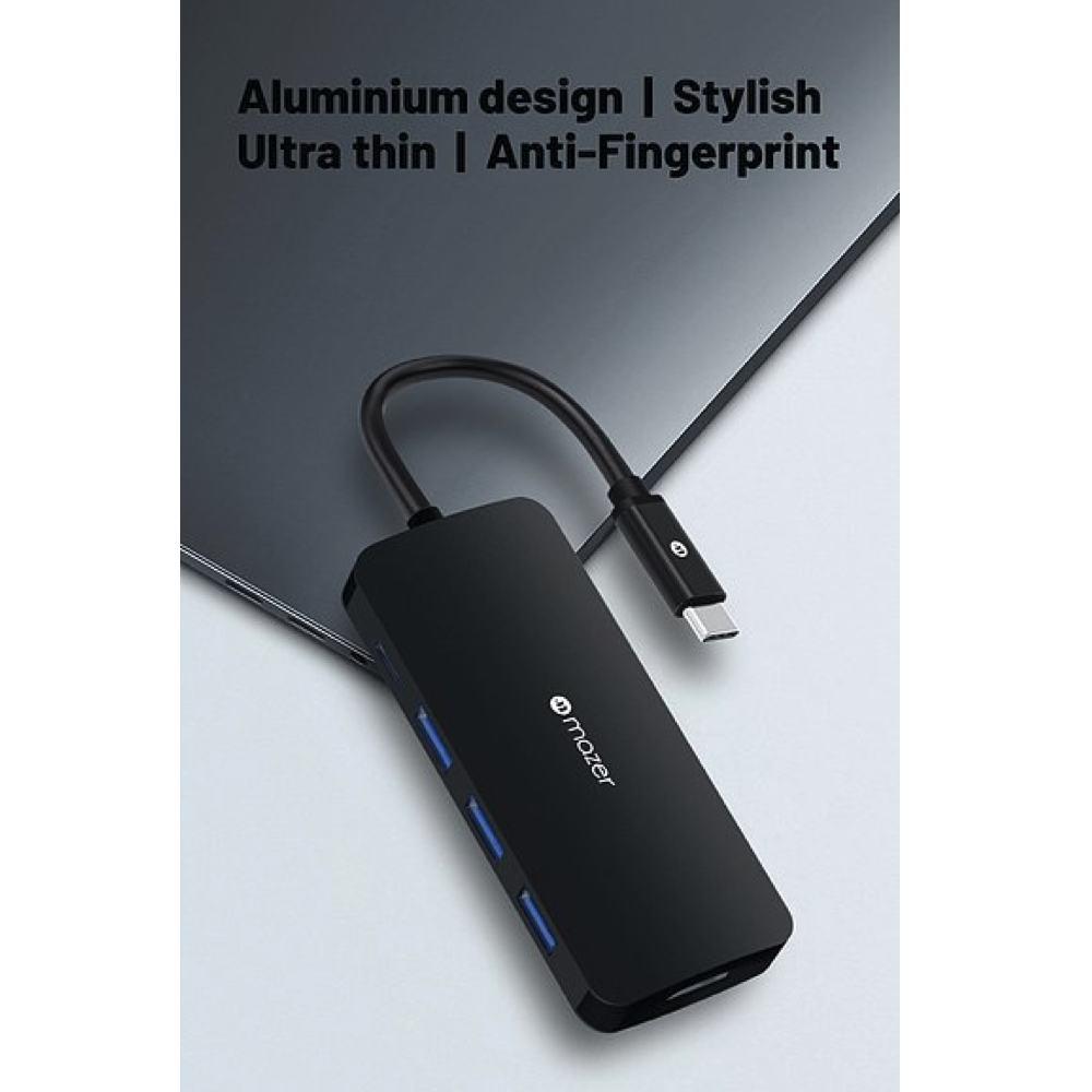 Mazer - Cổng chuyển đổi USB-C 5-in-1 Chính Hãng 8