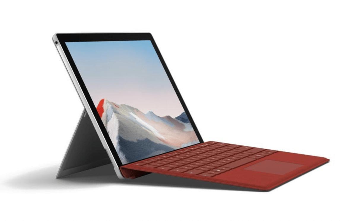 Surface Pro 7 Plus có ổ đĩa SSD tháo rời