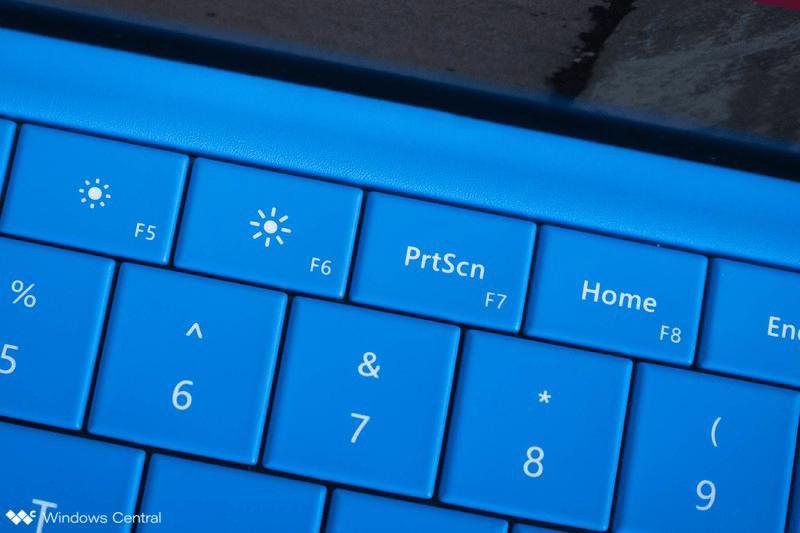 Có mấy cách chụp màn hình trên Surface Pro? 2